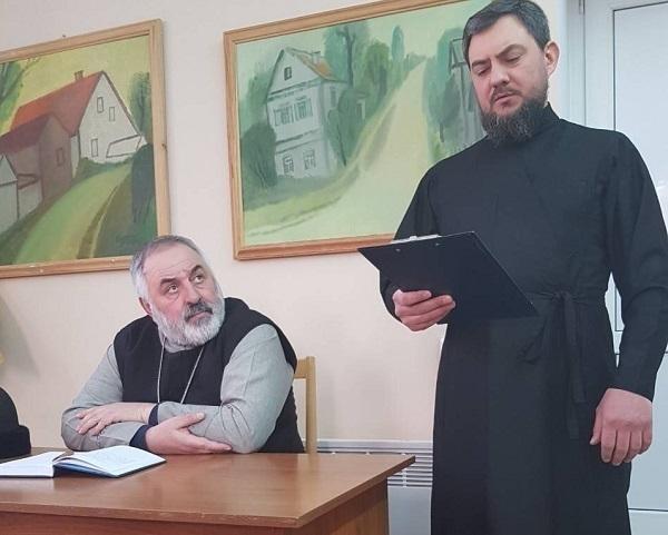 В Никольском кафедральном соборе Камышина прошло собрание духовенства
