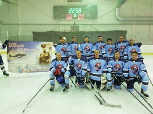 Камышинская хоккейная команда имени Маресьева возвращается триумфатором из Сочи