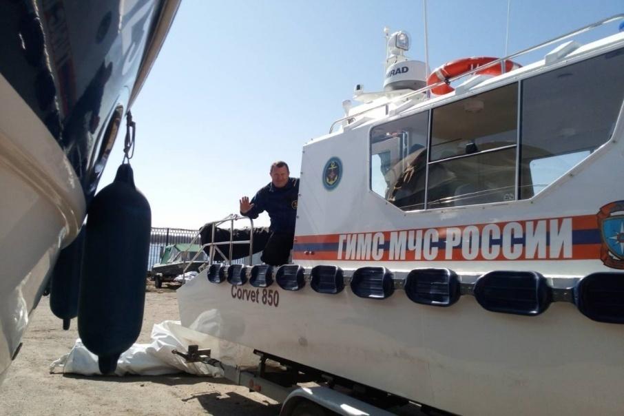 ГУ МЧС России по Волгоградской области готовится спустить на воду новые сверхмощные катера